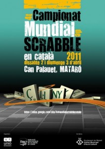 Cartell del 4t Mundial de Scrabble