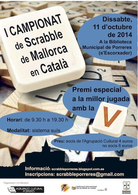 Cartell I Campionat Mallorca 2014_petit