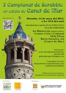 cartell 1r campionat canet