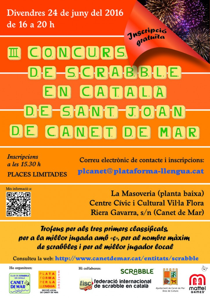 cartell canet 3r sant joan