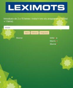 web Leximots anagramar