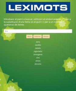diccionari scrabble català web Leximots