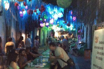 Partides duplicades, Scrabble, Scrabble en català, Festes de Gràcia, 2018, Gràcia