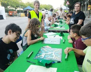 Festa Major, barri, Les Termes, Sabadell, col·laboració, Actuacions del Pla d'Actuació Lingüística Integral, Plataforma per la Llengua
