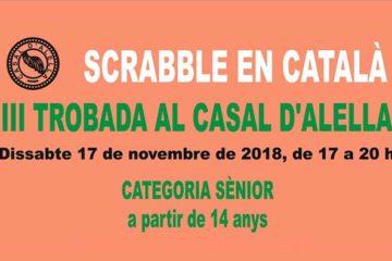 Alella, casal d'Alella, 2018, concurs, scrabble, català, FISC