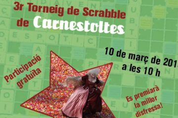 Torneig, scrabble, català, Carnestoltes, Carnaval, Vilanova i la Geltrú, VNG, Vilanova, Federació Internacional de Scrabble en Català, FISC