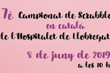 2019, Ajuntament, Biblioteca, Català, club de scrabble, Federació Internacional de Scrabble en Català, fisc, L'H, L'Hescarràs, l'Hospitalet, L'Hospitalet de Llobregat, lh9, llengua, scrabble, scrabble en català, Tecla Sala