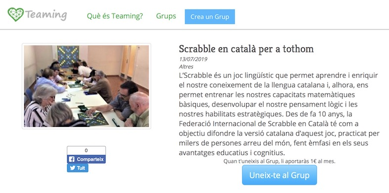 teaming scrabble català per a tothom