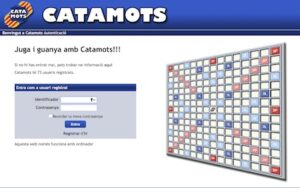 caratula catamots joc en linia scrabble