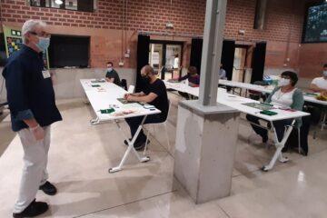 1r torneig scrabble duplicat Barcelona amb Plataforma per la Llengua Barcelonès
