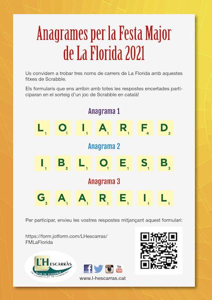 anagrames festa major Florida