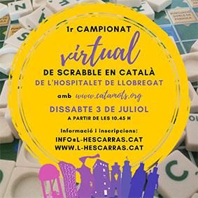 1r campionat virtual Hospitalet de scrabble català
