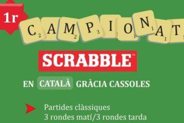 1r campionat Gràcia de Scrabble català
