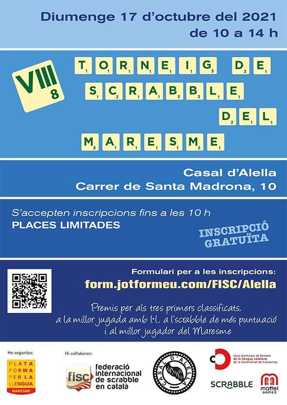 8è torneig itinerant del maresme a Alella 2021
